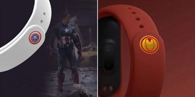Супергеройский ремешок для Xiaomi Mi Band 4