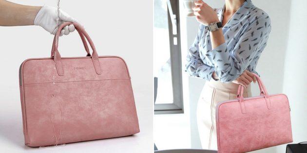 Дамская сумка для ноутбука