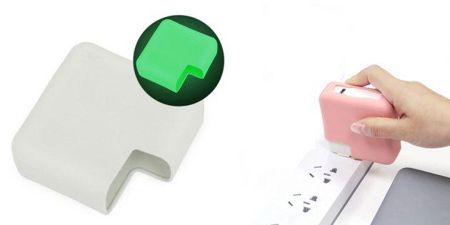 Силиконовый чехол для зарядки MacBook