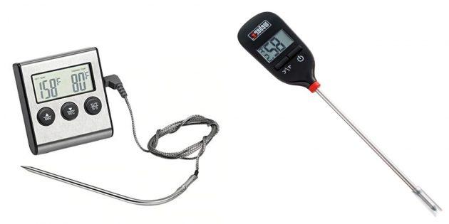 Что подарить папе на день рождения: термометр для мяса