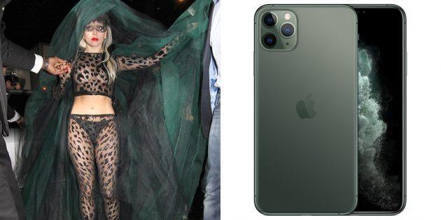 Леди Гага как iPhone 11 Pro