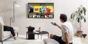 OnePlus представила свой первый телевизор. Он получил QLED-экран и выдвижной саундбар