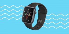 Обзор Apple Watch Series 5 —умных часов с негаснущим экраном