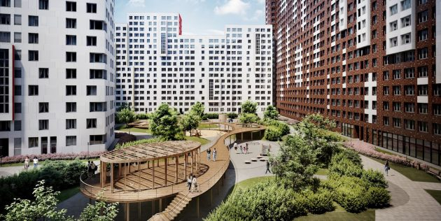 Цена квартиры в Москве зависит от района и застройщика