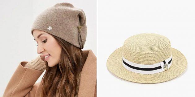 что подарить бабушке на день рождения: красивая шапка