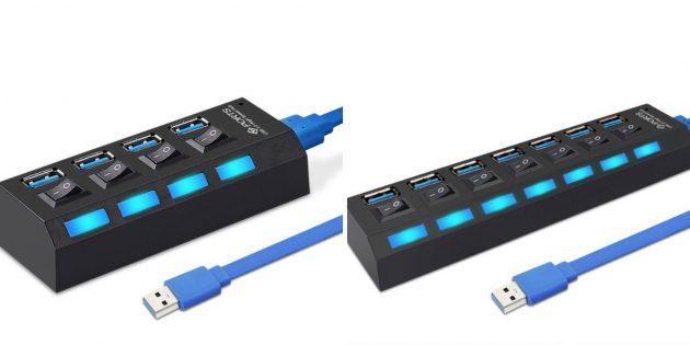 Полезные вещи с Алиэкспресс: USB-хаб