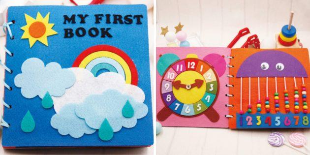 Наборы для творчества: аппликация — детская книжка