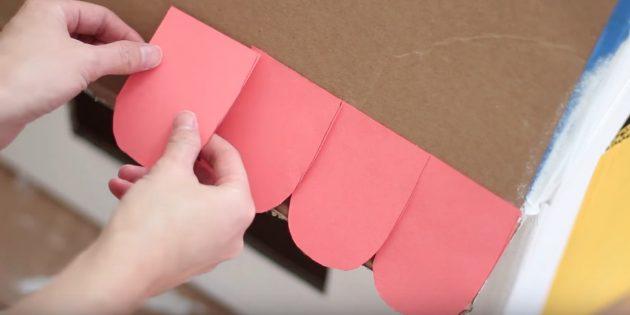 Домик для кошки своими руками: сделайте черепицу из бумаги