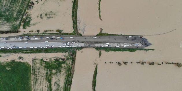 лучшие фото 2019: наводнение в Северном Иране