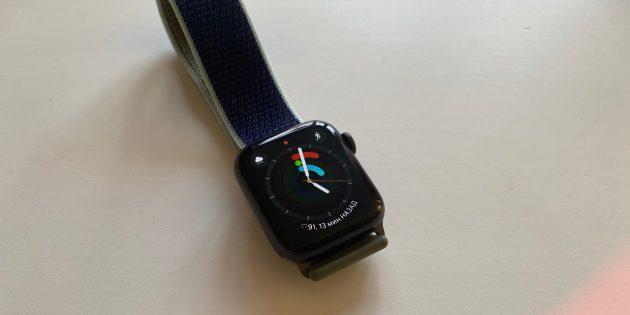 Apple Watch Series 5: активность