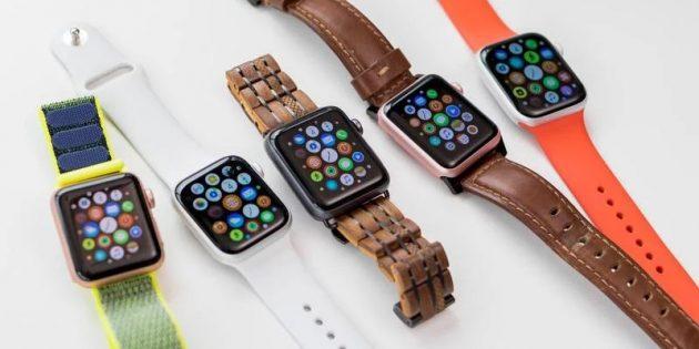 презентация iphone 11: Apple Watch Series 5