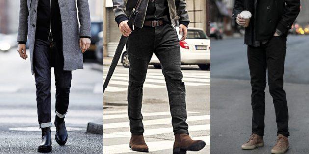 Чёрные мужские джинсы — 2019-2020