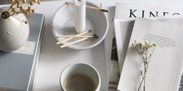Скандинавский стиль в интерьере: расставьте свечи