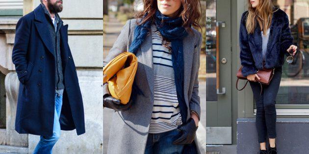 Модные цвета осень-зима 2019–2020: вечерний синий