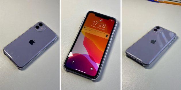 iPhone 11: В чехле