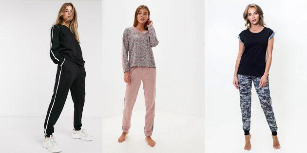 Домашняя одежда: костюмы