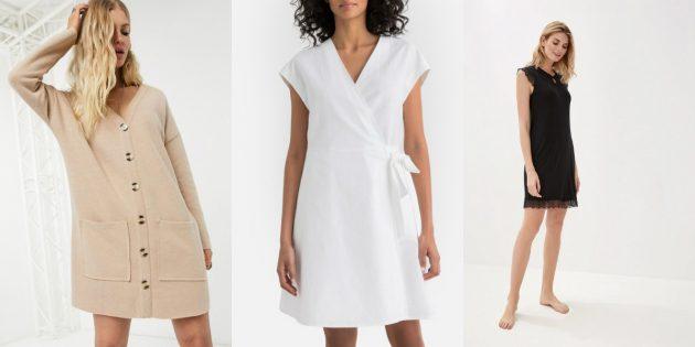Домашняя одежда: платья