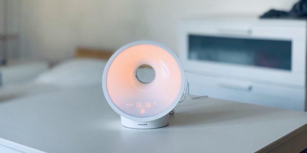 Обзор Philips Somneo HF3650 — светового будильника, который может заменить солнце