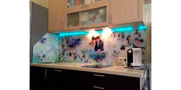фото на кухонном фартуке