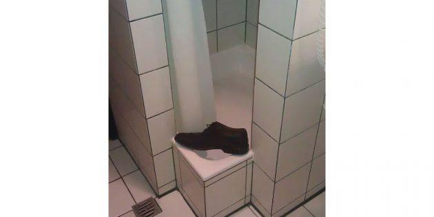 душ для худых