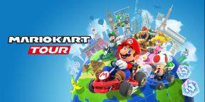 На iOS и Android вышла бесплатная Mario Kart Tour