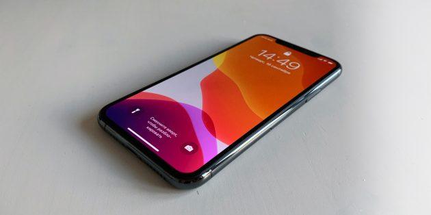iPhone 11 Pro: экран