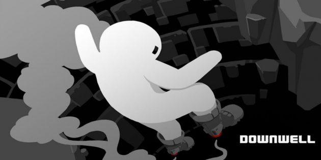 В Google Play раздают хардкорный платформер Downwell