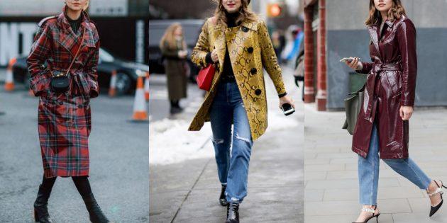 Лакированные модные куртки и пальто осени-2019