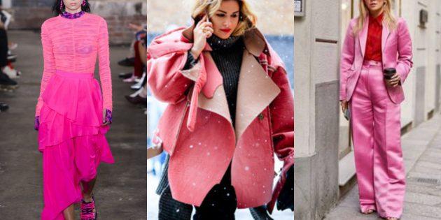 Модные цвета осень-зима 2019–2020: фруктовый голубь