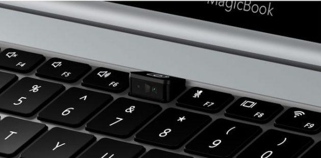 веб-камера в Huawei Honor MagicBook Pro Ryzen Edition