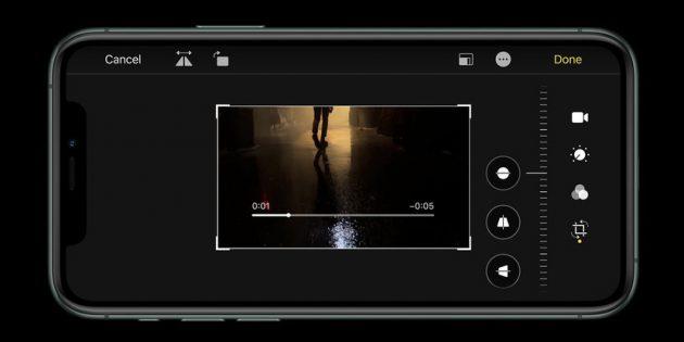 видесъёмка в iPhone 11 Pro