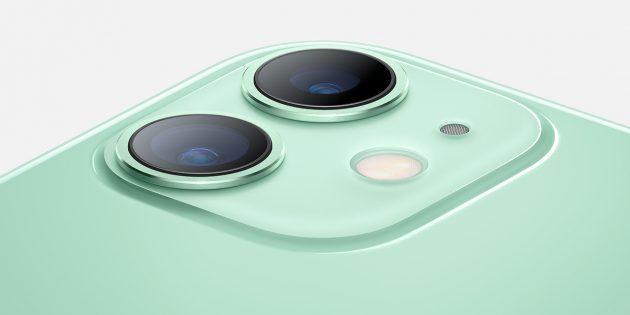 iPhone 11 камера