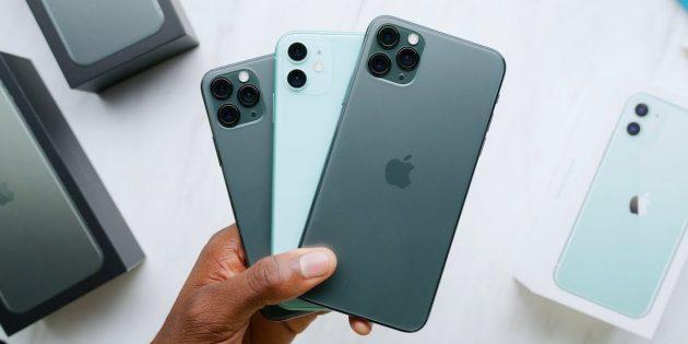В России открылся предзаказ на iPhone11 и 11 Pro