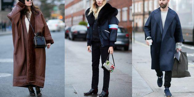 Оверсайз куртки и пальто осени 2019 года
