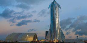 Илон Маск представил космический корабль Starship для полётов на Луну и Марс