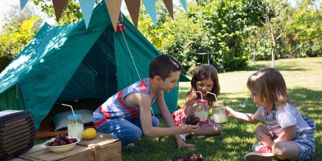 Детский день рождения: отправляйтесь в поход с пикником в финале