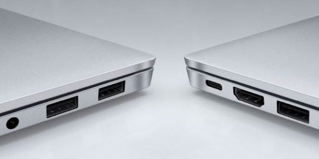 порты в Honor MagicBook Pro Ryzen Edition