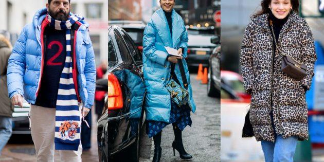 Стёганые куртки и пальто осени 2019