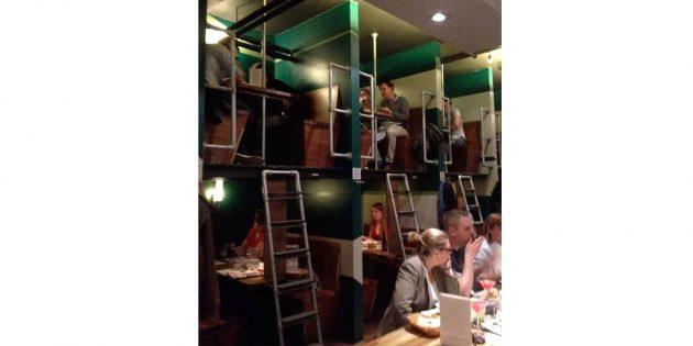 двухъярусный ресторан