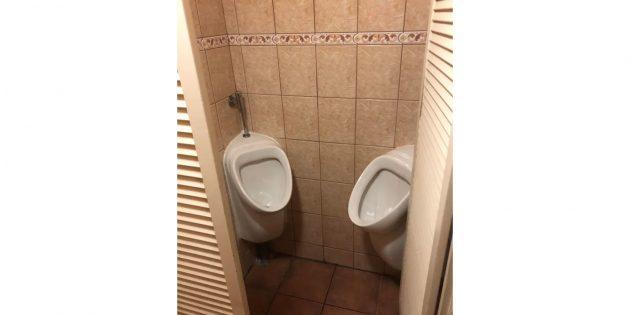 туалет в ресторане