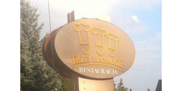 логотип ресторана в Польше