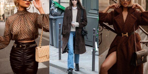Модные цвета осень 2019: каменистая дорога