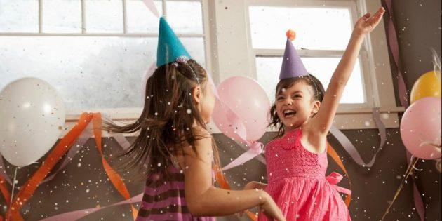 Детский день рождения: подготовьте танцевальную вечеринку