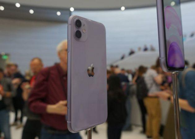 iPhone 11 в сиреневой расцветке