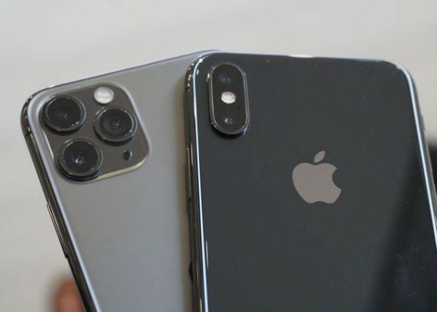 iPhone X и iPhone 11 Pro
