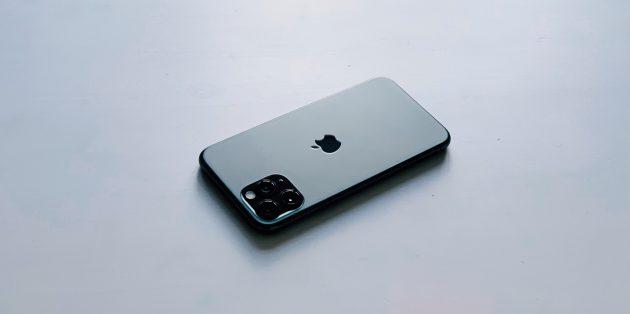 iPhone 11 Pro: стекло