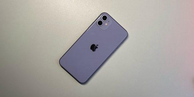 iPhone 11: Задняя панель