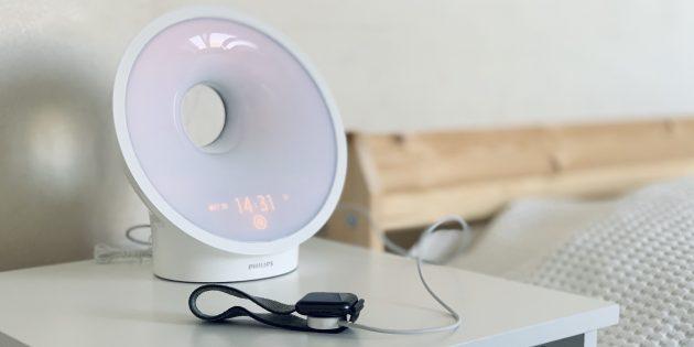 Philips Somneo HF3650: Зарядка