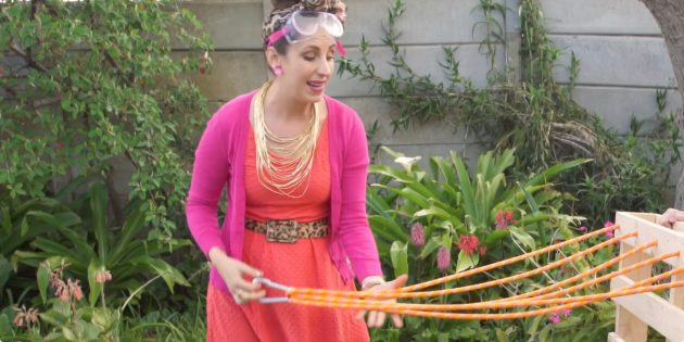 Качели своими руками: расправьте верёвки