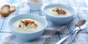 10 сытных и нежных супов из цветной капусты